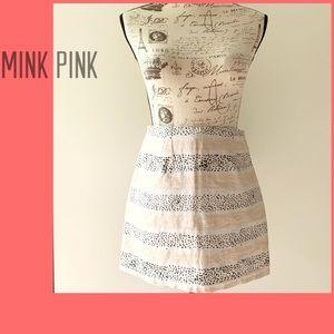 """Mink Pink Mini """"pencil """" Skirt"""
